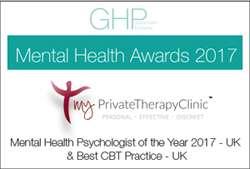 Mental Health Awards Winners